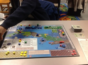 Cuba Libre at the start of the game.