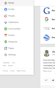 To provide feedback to Google look for the option on the left menu.