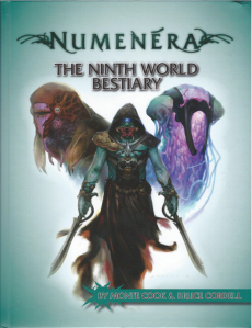 Ninth World Bestiary Front Cover